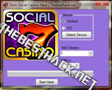 social slots casino cheats